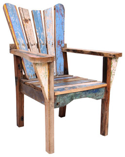 Clearance Centre Recycled Boat Furniture - Traditional - Armchairs And Accent Chairs - other ...