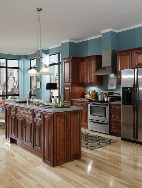 Sienna Rope Kitchen Cabinets  other metro  by Cabinets To Go