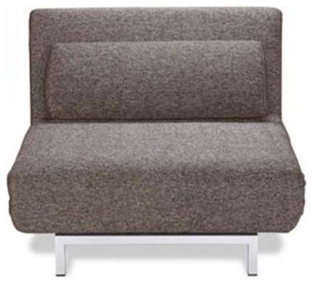 fauteuil convertible design 1 place archie couleur brun. Black Bedroom Furniture Sets. Home Design Ideas