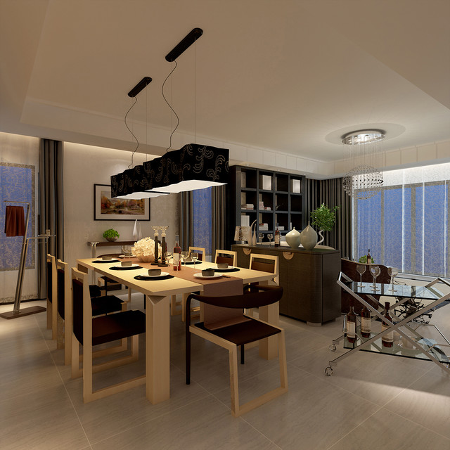 Derick Modern Dining Room By Sureeco