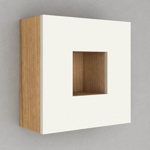 Componendo | Cube Wall Unit - Modern - Bathroom Cabinets And Shelves - by YBath