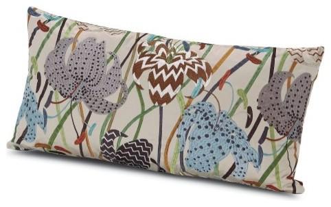 All Modern Missoni Pillows : Missoni Home Rajkot Pillow 12x24 - Modern - Decorative Pillows - by YLiving.com