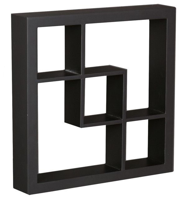 Arianna display shelf contemporary display and wall for Contemporary display shelves