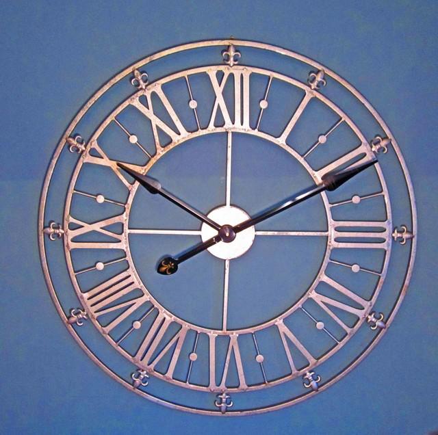 clocks large decorative metal wall clocks contemporary