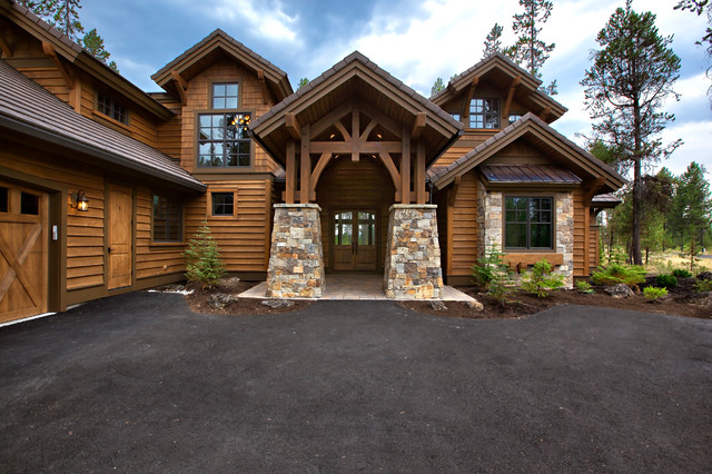 Luxury mountain craftsman house plan 9069 Luxury mountain house plans