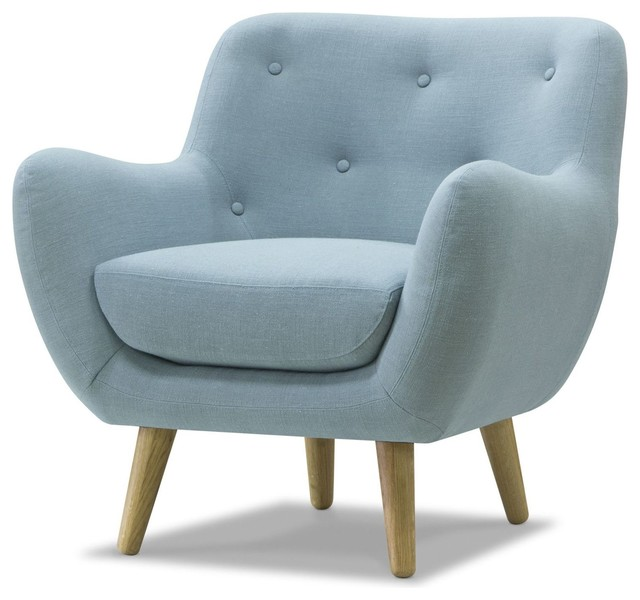 poppy meuble fauteuil esprit seventies bleu ciel. Black Bedroom Furniture Sets. Home Design Ideas