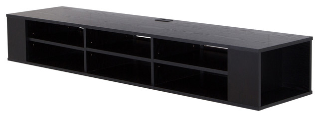 South shore city life 66 wide wall mounted media console Wall mounted media console