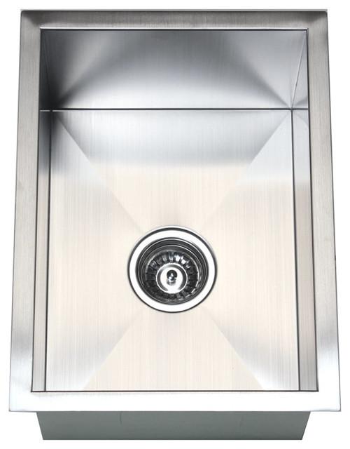 ... Bowl Kitchen / Bar / Prep Sink - Modern - Bar Sinks - by eModern Decor