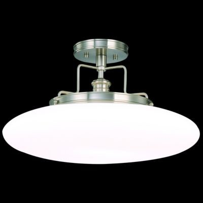 Beacon Semi-Flushmount by Hudson Valley Lighting - Bathroom Vanity Lighting - by Lumens