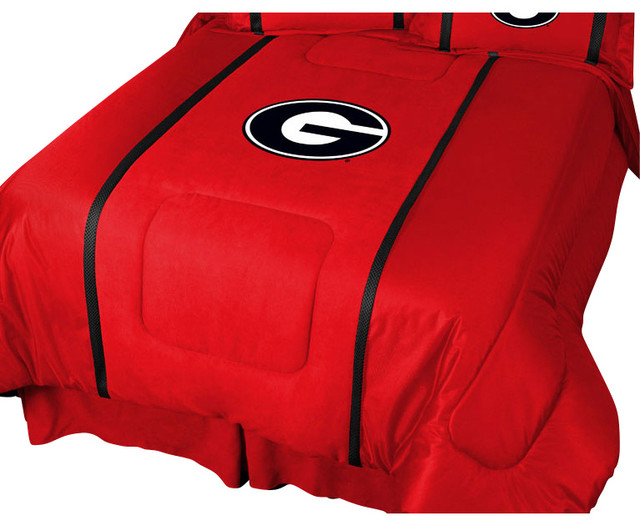 Ncaa georgia bulldogs twin comforter college mvp bedding for Georgia bulldog bedroom ideas