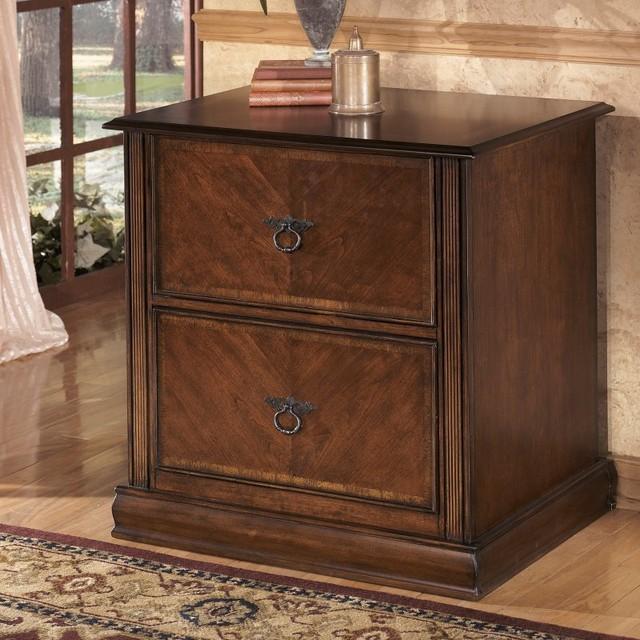 Ashley Furniture Hamlyn Lateral File Cabinet Multicolor - H527-42 - Contemporary - Filing Cabinets