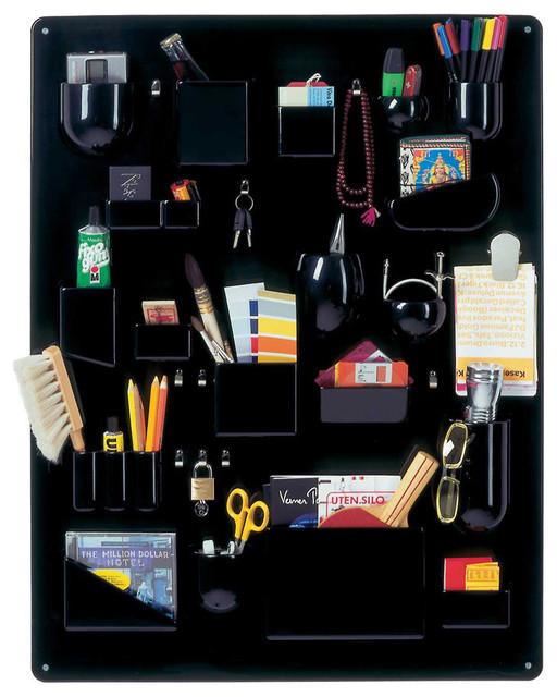 Vitra Uten Silo Large Wall Organizer, Black - Modern - Storage Cabinets - by Design Public