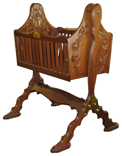 First Born Newborn Sleeping Cradle Traditional Cradles And Bassinets By Heritage Cradle