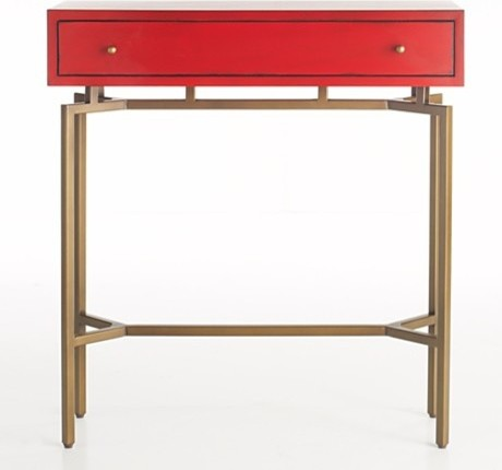 Mitchell gold bob williams ming console modern for 10 spring street console table
