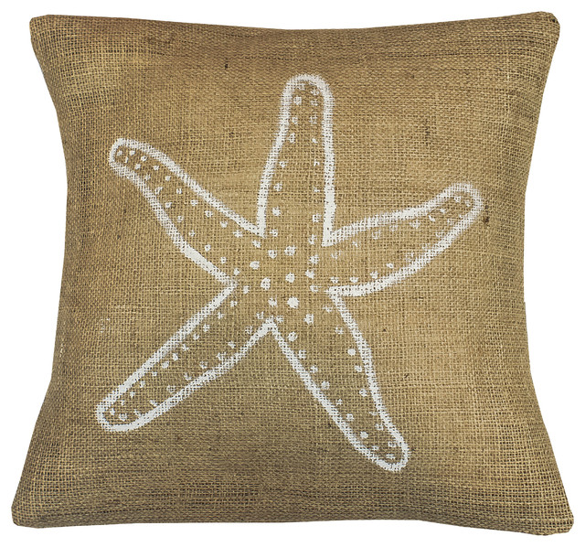 Beach Style Pillows : Coastal PIllow - Beach Style - Decorative Pillows - by Mayenne Maison