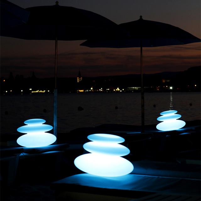 Zen Outdoor Portable LED Lamp Smart Green Modern Outdoor Lighti