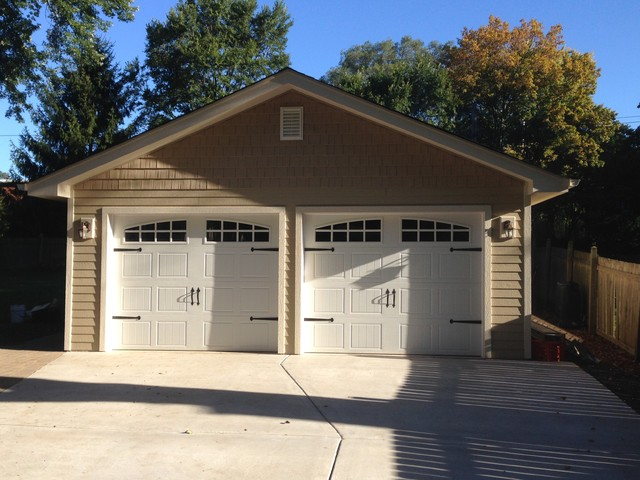 2 car detached garage for Custom detached garage