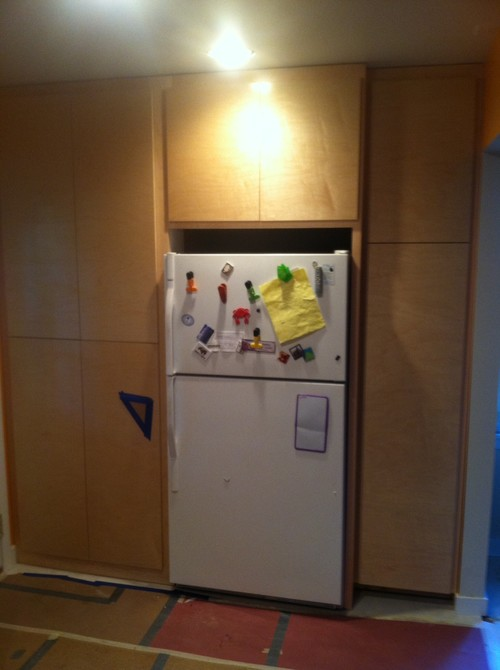 Filling A Space Between Fridge And Cabinet