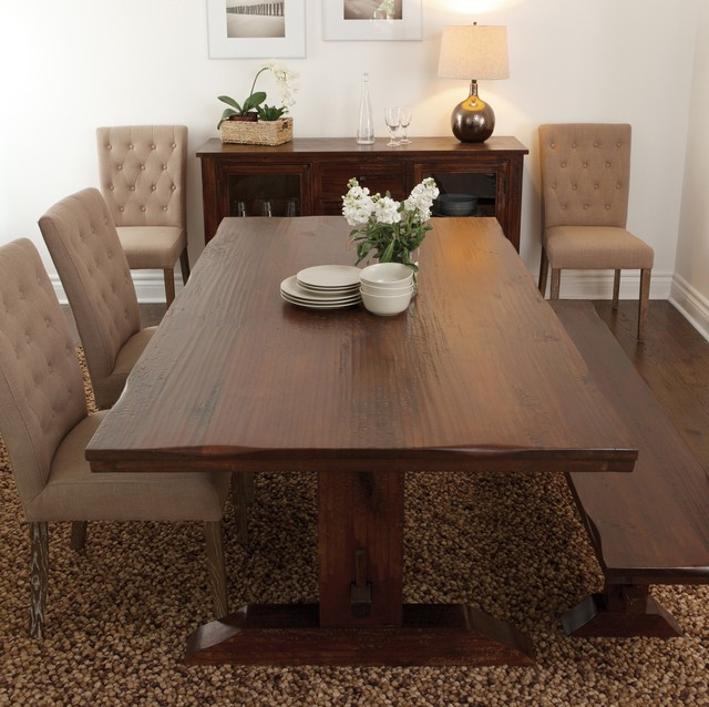 Houzz Dining Table: Sequoia Trestle Dining Table 78""