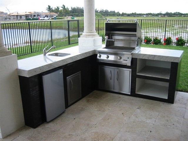 outdoor kitchens traditional miami by the bbq depot