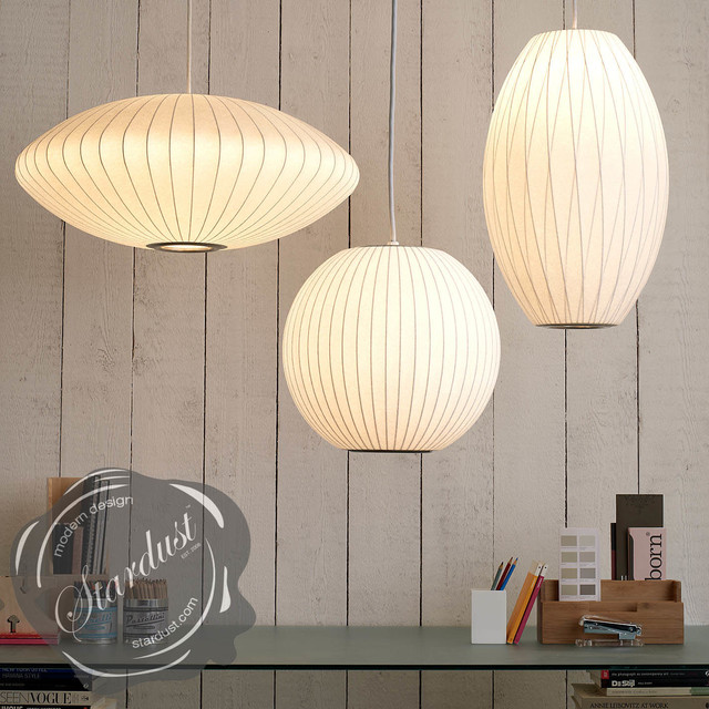 Modern Pendant Lamps George Nelson Saucer Lamp