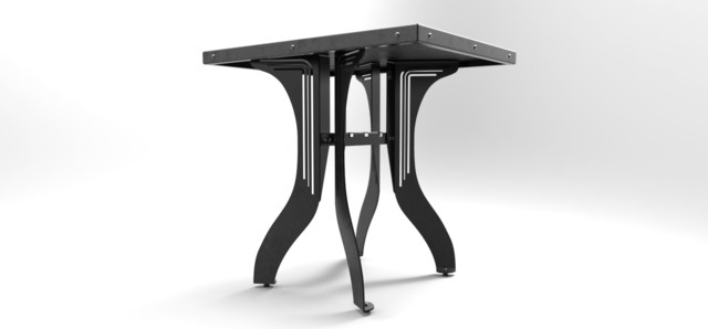 Prototype Furniture Industrial Dining Tables toronto  : industrial dining tables from www.houzz.com size 640 x 298 jpeg 14kB