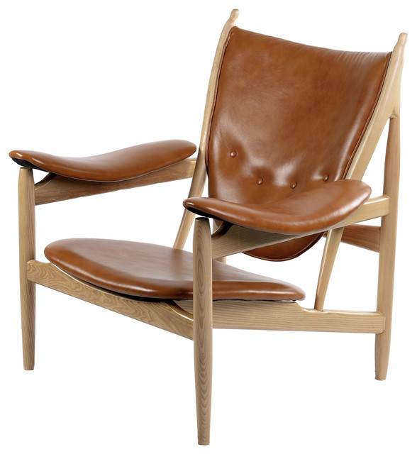 Burnt orange arne chair contemporary armchairs and for Burnt orange accent chair
