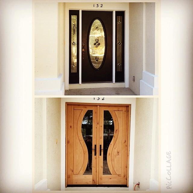 Deco Doors In Ponte Vedra Beach Modern Front Doors Miami By Heckard