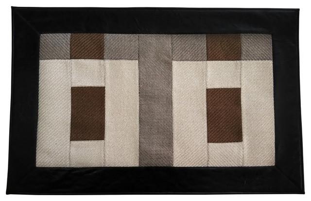 Kitchen Floor Mat Modern Style Rug Patchwork Door Mat