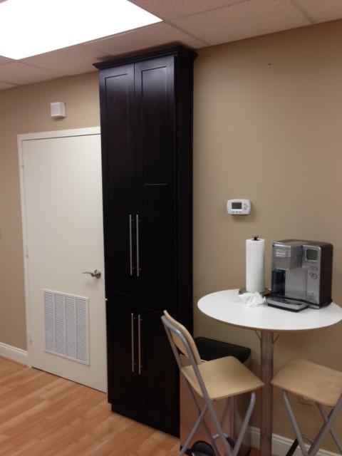 Mini kitchenette in office space for Office kitchenette design