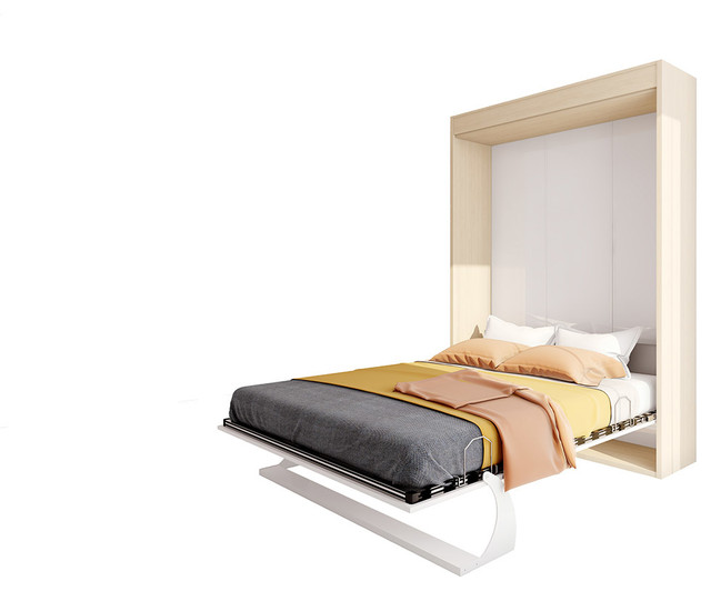 Bellezza Queen Wall Bed Contemporary Murphy Beds By