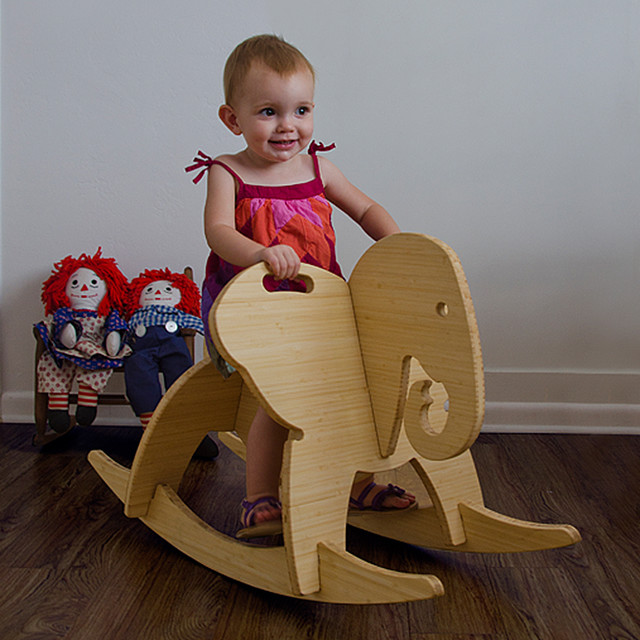 The Wee Rock Elephant - Kids Toys And Games - miami - by Wee Rock Toy Co.
