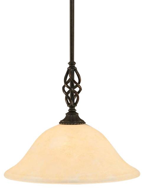 Toltec Lighting Elegante Mini Pendant 12