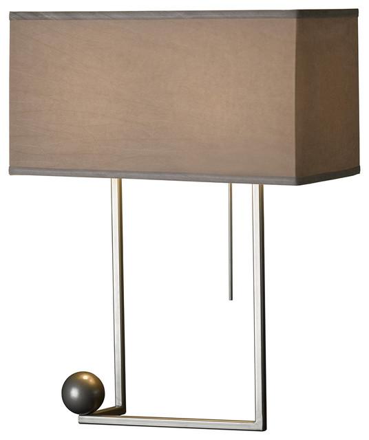 Hubbardton Forge Lamp Shades: Balance Black Table