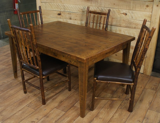 Hickory Dining Room Tables Decor