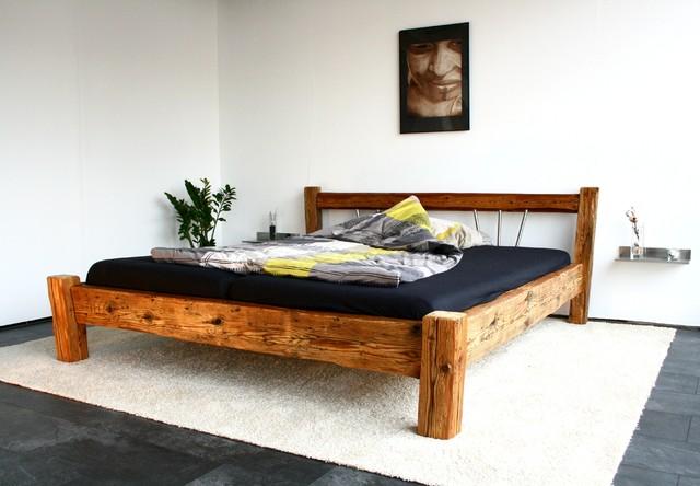 Bett - Modern - Schlafzimmer - other metro - von woodesign