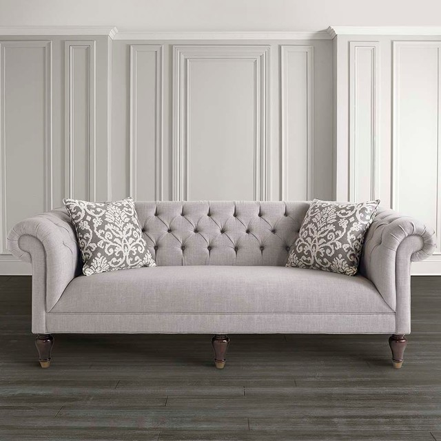 Chesterfield Sofa By Bassett Furniture Contemporary Sofas Raleigh By Bassett Furniture