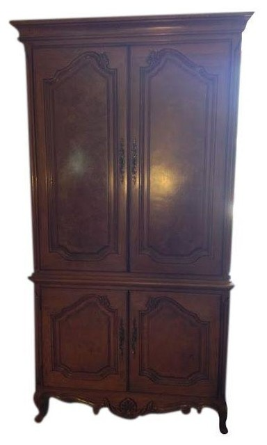 Thomasville Armoire Entertainment Center Traditional