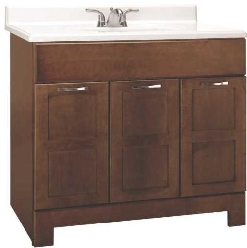 Cognac Vanity 36 X 21 X 33 1 2 Transitional Bathroom Vanities And Sink Consoles By