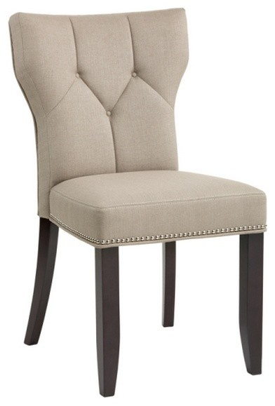 Parsons Fabric Chair in linen transitional dining chairs : transitional dining chairs from www.houzz.com size 392 x 579 jpeg 27kB