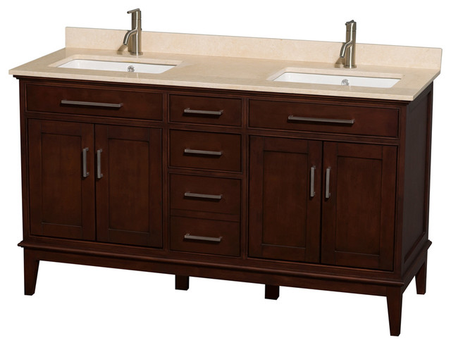 3 Drawer Eco Friendly Double Bathroom Vanity Contemporary Bathroom Vanities And Sink Consoles
