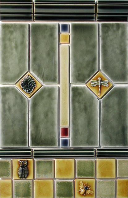 Craftsman Style Craftsman Tile Portland By Pratt
