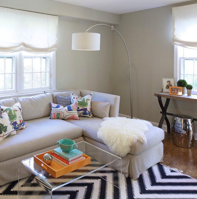 Return To Home Interiors Eclectic Family Room New