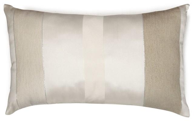 edimbourg coussin rectangulaire 30x50cm ivoire moderne coussin par alin a mobilier d co. Black Bedroom Furniture Sets. Home Design Ideas