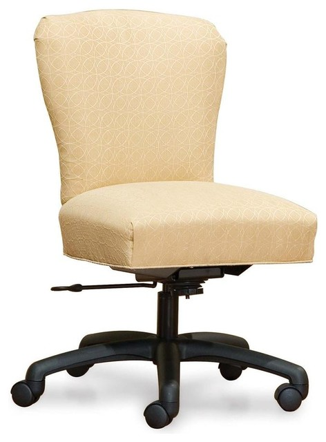 fice Swivel Chair w Tight Back and Tight Seat Fabric