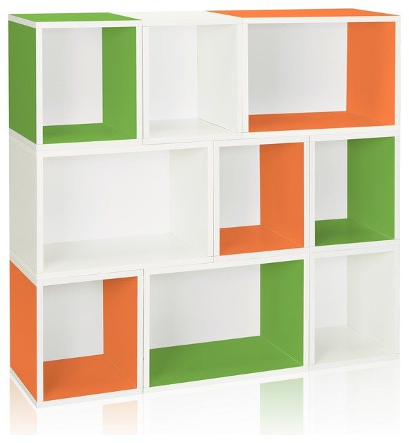 Stackable Oxford Modular Storage Cabinet - Modern - Bookcases - by Way Basics