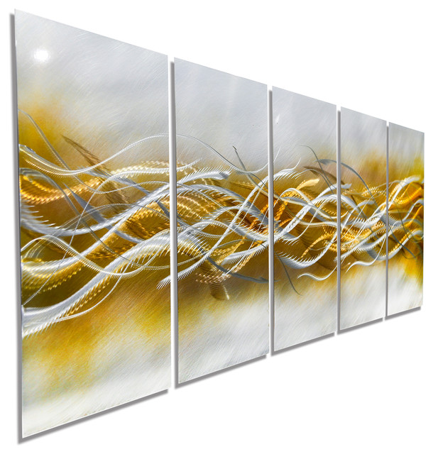 Blades of Harvest - Contemporary Gold and Silver Fusion ...