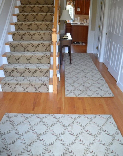 Foyer Rugs And Runners : Help foyer rug and runner mix match