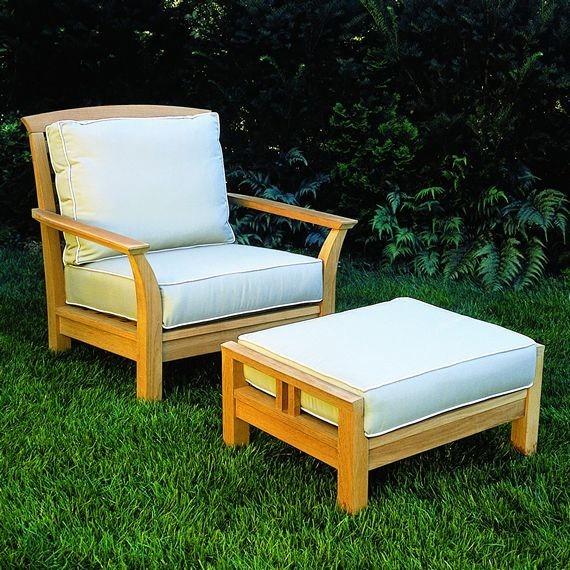 Kingsley Bate Mandalay Deep Seating Lounge Chair Patio