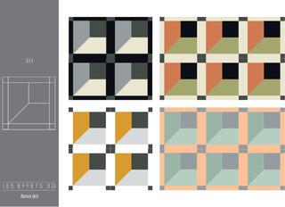 carreaux de ciment collection les effets 3d